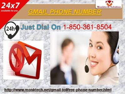 Weed out issues with Gmail Phone Number wide variety like never before at 1-850-361-8504
