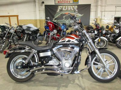 2007 Harley-Davidson FXDC Dyna Super Glide Custom Cruiser Motorcycles South Saint Paul, MN