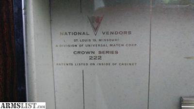 For Sale/Trade: Cigarette vending machine