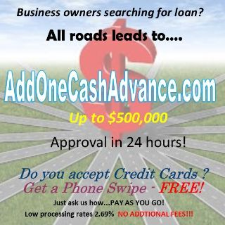 Any type of Business - we have the right loan for you!