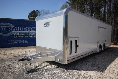 2019 ATC Quest CH305 28ft Aluminum Enclosed Car Trailer