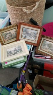 set 4 vintage pics 4 seasons. all for 10.00. about 8x10