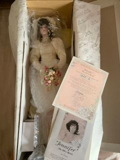 1980 s bride doll Jennifer