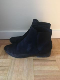 Aldo suede ankle boots