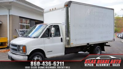"""1999 Chevrolet Express Commercial Cutaway 159"""" WB C7A DRW (White)"""