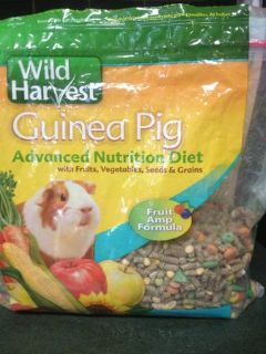 Half a bag of Guinea Pig food