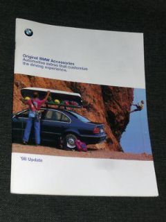Find BMW Original Accessories Catalogue 1998 Update 53 pages motorcycle in Union City, California, US, for US $20.00