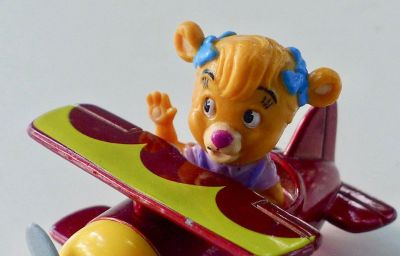 "Vintage Disney Talespin Plane Toy ""Molly"""