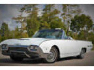 1962 Ford Thunderbird Roadster 1962 Ford Thunderbird Factory Sports Roadster