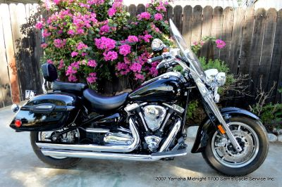 2007 Yamaha XV1700 Midnight Roadstar