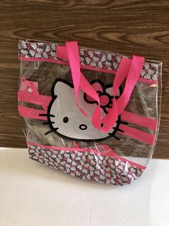 Hello Kitty Tote Bag! Excellent Condition! 14 x 14