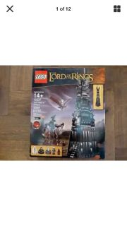 LEGO Tower of Orthanc NIB Lord of the Rings