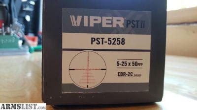 For Sale: Vortex Viper PST Gen II 5-25, EBR-2C MRAD, FFP