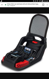 New Britax B-Safe 35, Elite, and Endeavours Infant Car Seat Base with Anti-Rebound Bar