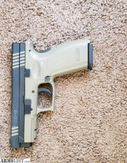 For Sale: Cerakoted Springfield Xd9 4""