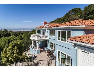 5 Bed 6 Bath Foreclosure Property in Burlingame, CA 94010 - Summit Dr