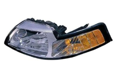 Sell Replace FO2503160 - 99-00 Ford Mustang Front RH Headlight Lens Housing motorcycle in Tampa, Florida, US, for US $85.68