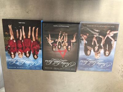 Pretty Little Liars the complete third, fourth, & fifth season dvd Set. Pick up in Hernando