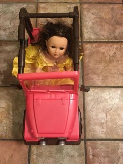 American Girl car and Doll