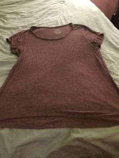 Faded glory purplish T-shirt real soft XL