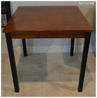 """Small Table 29 1/2"""" X 29 1/2"""" 28 1/2"""" high"""