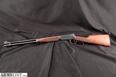 For Sale: Winchester Big Bore Model 94 Xtr, Cat. No. G9475 Xtr, Sharp Blue 20 Lever Action Tube Magazine Rifle, MFD Ca. 1980 .375 Win.