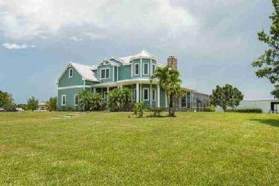 6955 37th Street Vero Beach Four BR, Custom Home with a