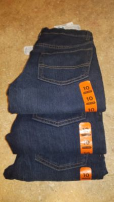 Size 10 Super Skinny dark blue jeans