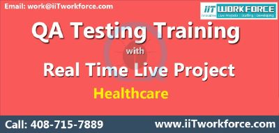 QA Online Training with real time projects on Healthcare domain by IIT Workforce.