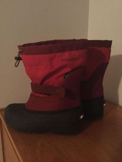 Mens Columbia winter boots size 7