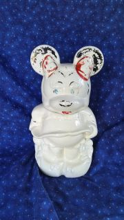 Disney TurnAbout Cookie jar - Mickey Mouse and Minnie Mouse