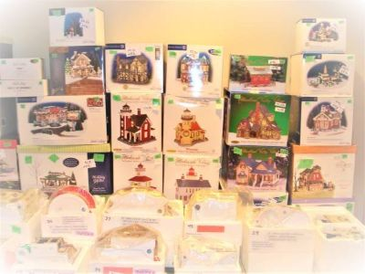 DEPT. 56 ORIGINAL SNOW VILLAGE - 125+ ITEMS NIB