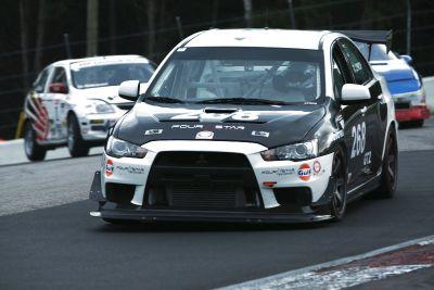 2008 Mitsubishi Evo X Race Car