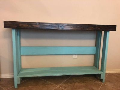 Buffet/Sofa Table/Entry Hall Table - Distressed