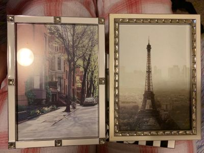 4x6 photo frames with Paris pictures