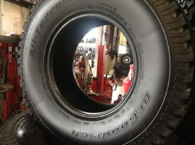 $1,200 LT315/70 R17 BF Goodrich all terrain Tires