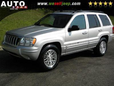 2004 Jeep Grand Cherokee Limited (Bright Silver Metallic)