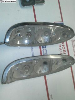 early type 3 rear tail light bulb holders assemby