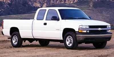 2001 Chevrolet Silverado 1500 LS (Summit White)