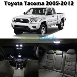 Purchase 5 White Map Dome License Lamp Interior Light Package For Toyota Tacoma 2005-2013 motorcycle in Cupertino, CA, US, for US $16.99