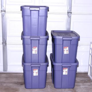 Rubbermaid Roughneck Storage Containers Bins
