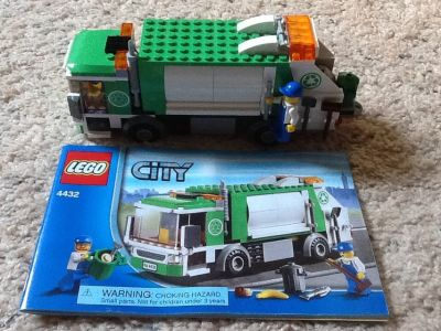 LEGO #4432 - City Garbage Truck