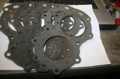 Purchase 6 brand new vintage Evinrude Johnson head gaskets 2 cyl motorcycle in Scottsville, Kentucky, United States, for US $20.00