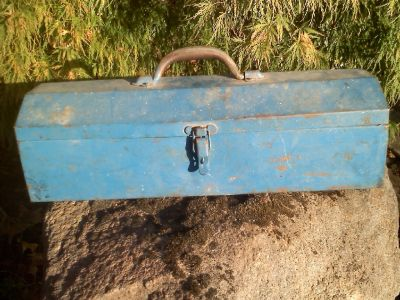 Steel Toolbox With Lift Out Tray