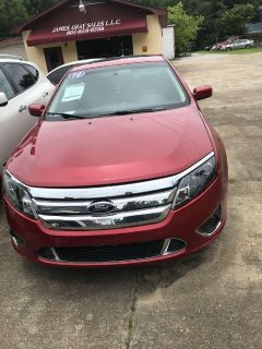 2010 Ford Fusion Sport (Maroon)