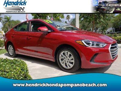 2017 Hyundai Elantra SE (Scarlet Red Pearl)