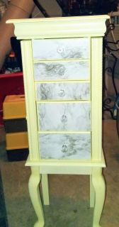 Large Standing Jewelry Box