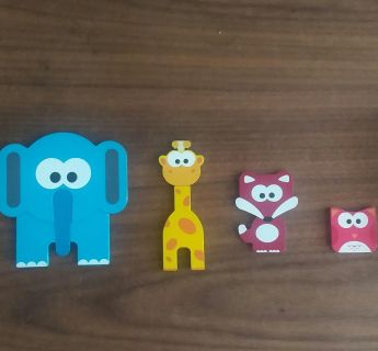J'adore wooden animal puzzle