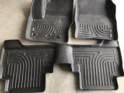 Husky liners weatherbeater front and rear mats 99741 Ford C-Max and escape