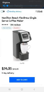Coffee Maker- used twice